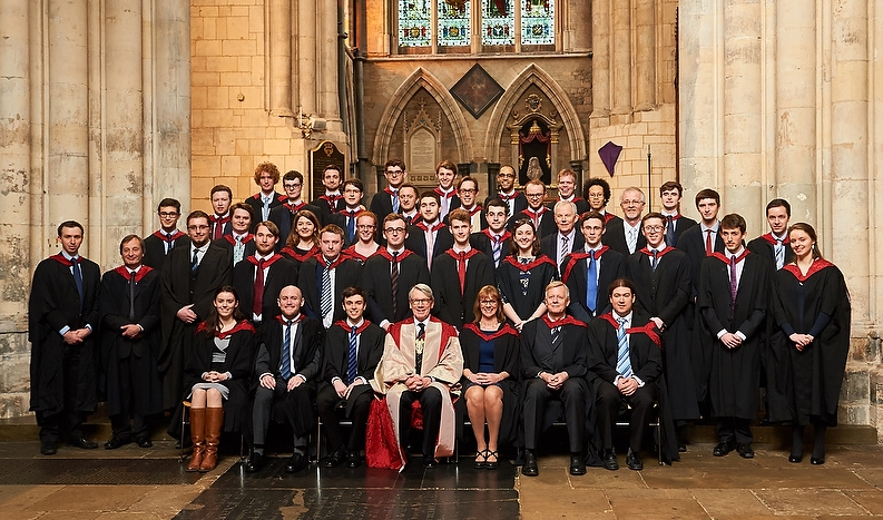 RCO President Dr Philip Moore with the successful candidates. See below for more photos.